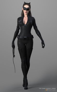 Anne Hathaway hour glass figure in Catwoman suit Wonder Woman Costumes, Catwoman Cosplay, Catwoman Suit, Catwoman Halloween Costume, Catwoman Makeup, Marvel Dc, Anne Hathaway Catwoman, Sculpt Studio, Harley Queen