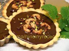 Čokoládové tartaletky Food And Drink, Cupcakes, Baking, Drinks, Sweet, Recipes, Drinking, Candy, Cupcake Cakes