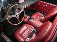 Ferrari 250 GT Series 1 Pininfarina Cabriolet 1958 interior