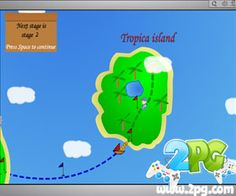 If you've played the Flash-based browser game Pang, you've played this one and you'll love this one. Technically, Super Pang – The Island Tournament is just Pang on steroids. But of course, the backgrounds are dynamic, not really dynamic but illusory dynamicism of the travelling, the changing backgrounds, will be more than enough to fool you that the game is not stale.