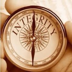 Leadership trait and character trait, always have integrity