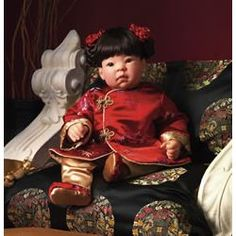 WISH LIST -- Lee Middleton #941:  China 2003  $125.00  Series:  Children of the World  Face:  Beautiful Baby  Artist:  Reva SCHICK