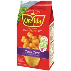 I can't wait to try these in totchos form! #GotItFree from @Influenster #JingleVoxBox #OreIdaTotchos Tater Tots