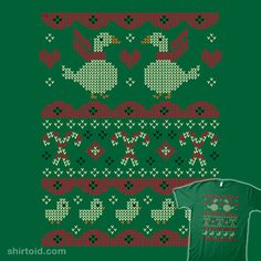 2015 Ugly Holiday Sweater #candycane #christmassweater #ducks #profhotpants #sweater