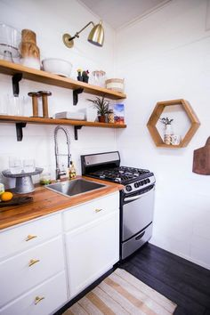 Freestanding Range - Tiny House Giveaway by Lamon Luther