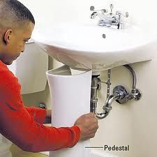 Ideas For Hiding Exposed Pipes Under Bathroom Sink Outside Sink