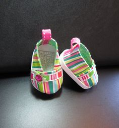 American Girl Doll Clothes- Shoes, 18 inch Doll Stripe Road Runner Espadrilles Shoes For American Girl Dolls and Similar Dolls