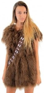 Star Wars Chewbacca Costume Skater Dress