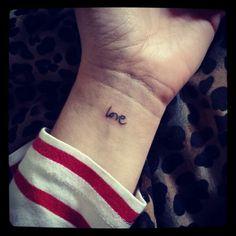 Love Ayms - mini tattoos