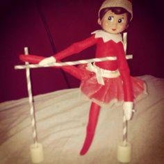 Elf on the Shelf does ballet