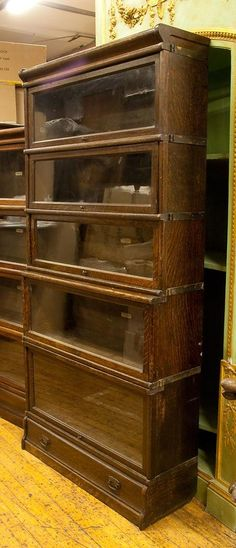 Bookcases On Pinterest Bookcases Glass Doors And Old Books