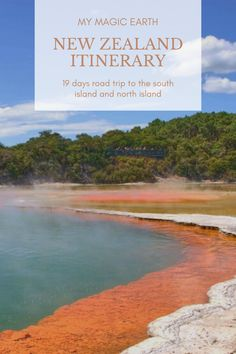 19-Day in New Zealand itinerary, experience the best of both islands of New Zealand in less than three weeks following this self-drive road trip itinerary. #newzealand #oceania #coast #destination #adventure #adventuretime #traveltips #travelblog #travellife #daytrips #新西兰 #traveltips #travelblogger #weekendtrip #roadtrip #thingstodo #familywithkids #familytravel #southisland #newzealanditinerary #auckland New Zealand Itinerary, New Zealand Travel Guide, Beautiful Places To Visit, Cool Places To Visit, Travel Inspiration, Travel Ideas, Travel Tips, Australia Travel Guide, 19 Days