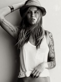 love all of her tattoos!