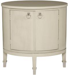 "Vanguard Furniture: W522E - Maclaine (Oval End Table) 27""W x 20""D x 28""H nightstand"