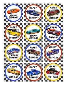 FREE Printable Hot Wheels Invitation Template – and Party Ideas Happy Happy Happy, Hot Wheels Birthday, Hot Wheels Party, Hot Wheels Cake, Anniversaire Hotwheels, Ben 1000, Cupcake Toppers Free, Cars Birthday Parties, Birthday Ideas