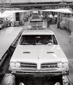 Factory fresh, 1964 Pontiac GTO's