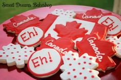 Cookies for Canada Day