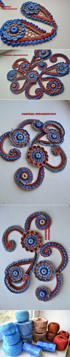 Irish crochet &: Ирландия Надежды Левандовской