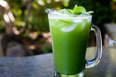 Cool and refreshing agua fresca, made with cucumbers, lime, and mint. Perfect for hot days!