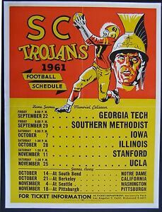 USC Football Fight On Football Schedule
