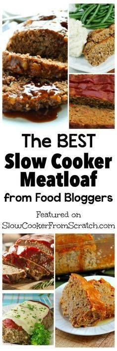 Making meatloaf in t Making meatloaf in the slow cooker is a genius idea to free up the cook or keep the house cool and here are our picks for The BEST Slow Cooker Meatloaf from Food Bloggers! PIN NOW so you can try out these meatloaf recipes when you need dinners for Back-to-School! [featured on Slow Cooker or Pressure Cooker at SlowCookerFromScr] Recipe : http://ift.tt/1hGiZgA And @ItsNutella  http://ift.tt/2v8iUYW  Making meatloaf in t Making meatloaf in the slow cooker is a...