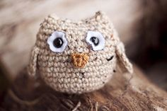 Owl Amigurimi FREE crochet pattern by Sarah Belcher (hva)