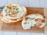 I'm so addicted to the naan from Trader Joe's it didn't occur to me to try to make my own until I saw this!