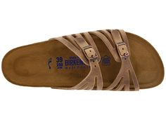 Birkenstock Granada Soft Footbed Tobacco Oiled Leather - Zappos.com Free Shipping BOTH Ways