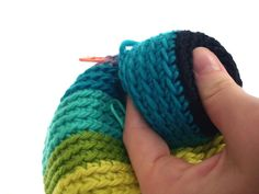 Attaching crocheted limbs