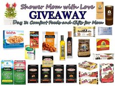 Shower Mom with Love Giveaway Day 3 – (ends 4/29)