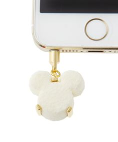 Sweet Jack Charm - Mickey Mouse / Petit White Luxe Chocolat