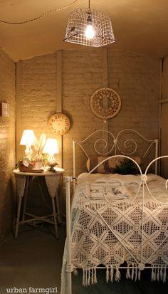 Repurposed bedroom space.