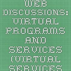 Web Discussions: Virtual Programs and Services (Virtual Services and Programs, Digital Reference Section, Library of Congress) African American History Month, Black History Month, Teaching Resources, Teaching Ideas, February 19, Mobile Learning, Library Of Congress, Educational Technology, Programming