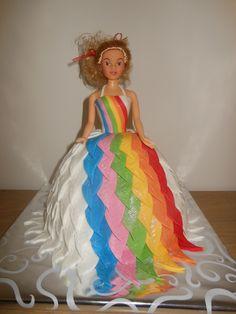 Barbie Taart