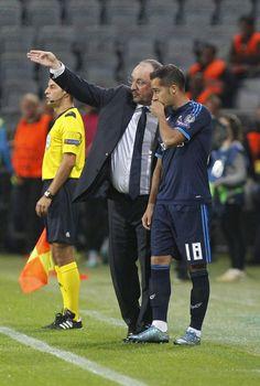 Rafa Benítez & Lucas Vázquez Real Madrid