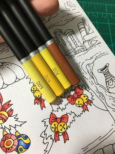 Colouring Techniques, Colour Combinations, Color Pallets, Colored Pencils, Art Supplies, Coloring Pages, Castle, Products, Pens