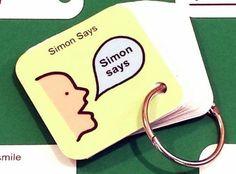 Simon Says ABA Keyring - ABA Activity - Autism Visual Aid
