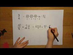 Bruchrechnen - ganz einfach erklärt - wirklich ganz einfach! | Mathematik - YouTube