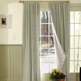 Sliding Door Curtains - Gardener's Supply