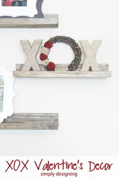 DIY Home Decor | Valentines | Looking for neutral Valentine's decor? This Pottery Barn inspired wreath matches any decor and has tons of texture!