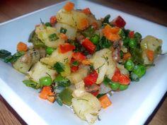 Frito mallorquín de verduras