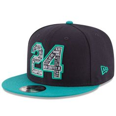a8ebf40ff67 Ken Griffey Jr. Seattle Mariners New Era Legendary  24 Snapback 9FIFTY  Adjustable Hat - Navy