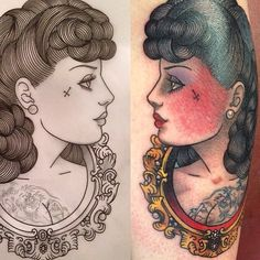 Designed and tattooed by Ian Parkin TattooStage.com - Rate & Review your tattoo artist and his studio. #tattoo #tattoos #ink