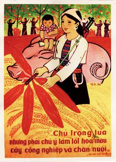 In Vietnam during the 1960s and 1970s, the newly-powerful socialists promoted equal access to education for men and women. #Propaganda #Poster available in S&L sizes.