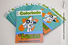 Revista Colorir 10x7 cm Party Themes, Doki, Character, Games, Quote Coloring Pages, Personalized Party Favors, Drawings, 4 Years, Fiestas