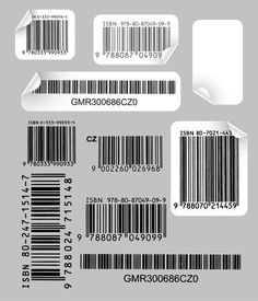 Creative And Practical Bar Code Label Vector 1 Clip Art Graphic Design Posters, Graphic Design Inspiration, Graphic Art, Cover Design, Design Art, Overlays, Barcode Labels, Qr Barcode, Photocollage
