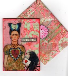 Collage ATC by Mary Jane Chadbourne