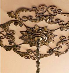 Large Old World Acanthus Leaf Ceiling Medallion - Decorative Ceiling Medallions - Amazon.com
