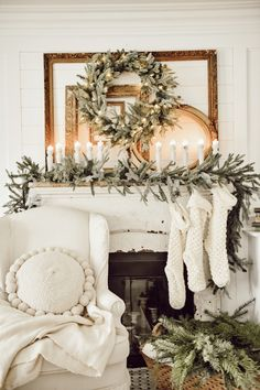 Holiday Housewalk with Balsam Hill - Liz Marie Blog Winter House