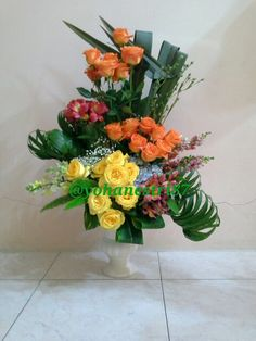 Delivery flower arrangement,,,,,,local flower from Indonesia